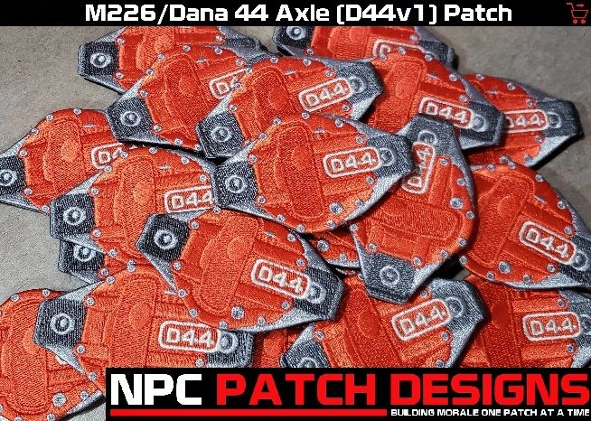 NPC Patch Designs - Building Morale One Patch At A Time!